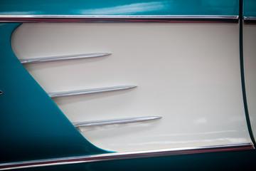 Vintage car air vent