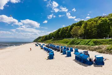 Am Strand in Koserow auf der Insel Usedom