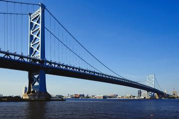 Benjamin Franklin Bridge. Philadelphia, Pennsylvania.