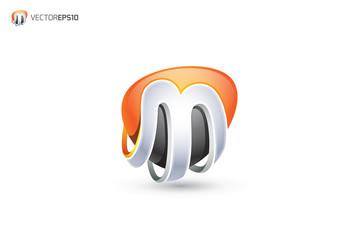 m logo 3d wwwpixsharkcom images galleries with a bite