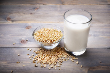 Oat milk, vegetable milk