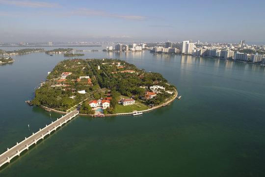 Aerial image of Star Island