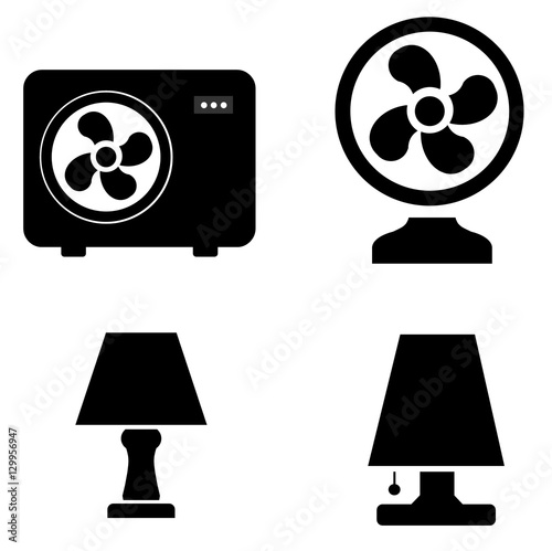 """""""Ventilateur Lampe"""" Stock photo and royalty free images"""