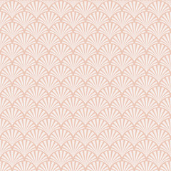 Seamless Art Deco sea shell texture pattern background