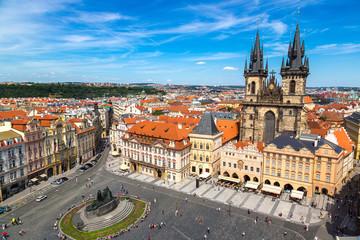 Fotobehang Praag Old Town square in Prague