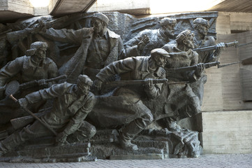 Sculpture, National Museum of the History of the Great Patriotic War 1941-1945, Kiev, Ukraine, Europe