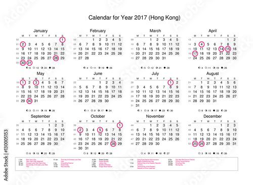 Year Calendar Hong Kong : Quot calendar of year with public holidays and bank