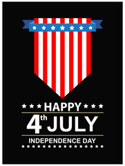 USA INDEPENDENCE DAY BLACK BACKGROUND