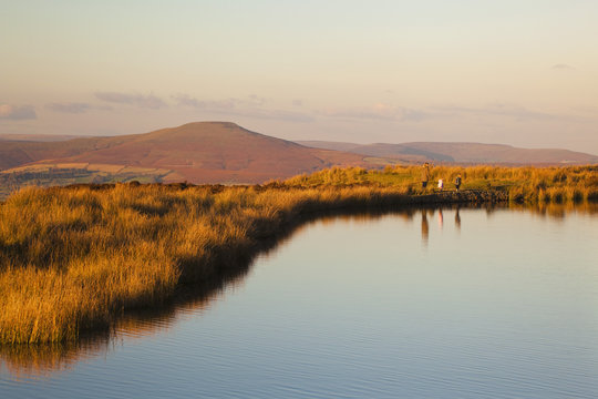 Keepers Pond, Blorenge, Sugar loaf Mountain, Brecon Beacons, Wales, U.K.