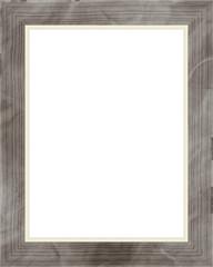Picture frame isolated on white background. Digital illustration art work.