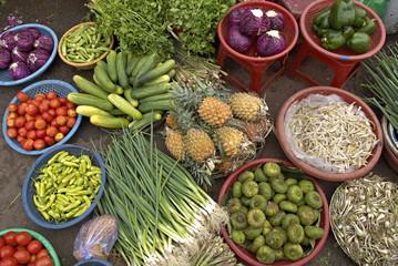 Dong Ba market, Hue, Vietnam, Indochina, Southeast Asia, Asia