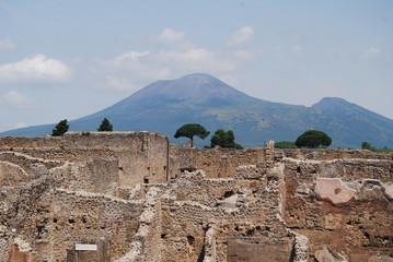POMPEI, ITALIA - 14 maggio 2015, città eterna.