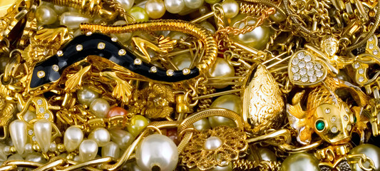 gold background Gold Jewelry