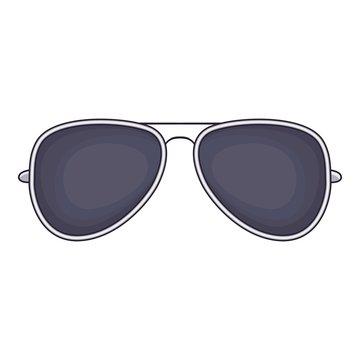 Sunglasses icon. Cartoon illustration of sunglasses vector icon for web
