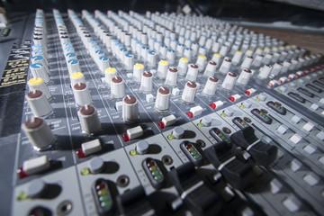 .audio mixer, music equipment
