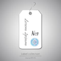 Label hanging tag