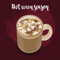 Hot cocoa season.