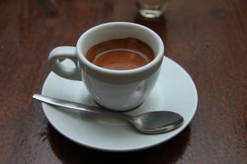A cup of espresso