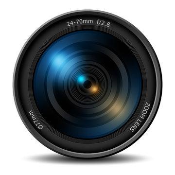 Professional digital camera zoom lens