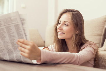 Reading the newspapers