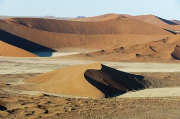 Aerial view, Namib Naukluft Park, Namib Desert, Namibia, Africa