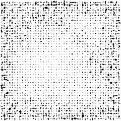 Grunge halftone vector background. Vintage dots texture