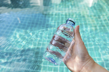 Drinking quality swimming pool water,