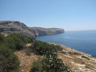 Coast line Malta