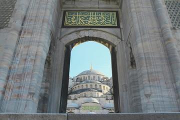 Sultanahmet - BlueMosque Cami girişi