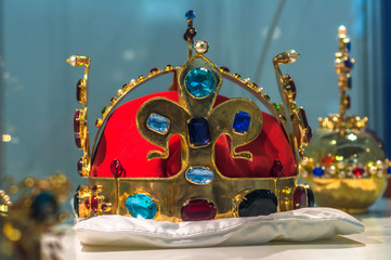 Replica of the Bohemian Crown Jewels