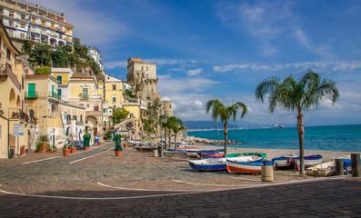 Wall Mural - Cetara Tower, Amalfi Coast