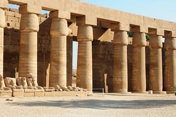 Columns of Karnak temple complex