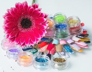 bright flower nail set
