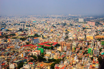 All view of Ho Chi Minh city.