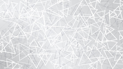 White abstract background of small triangles