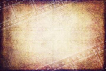 illustration vintage film background