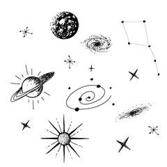 Vector illustration of universe