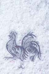 Rooster is a symbol of 2017.