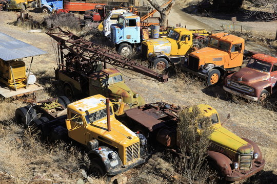 Gold King Mine and Ghost Town, Jerome, Arizona
