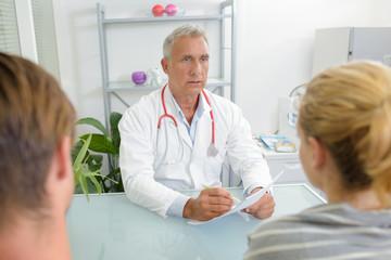 doctor's report to patient