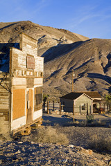 Mercantile at the Rhyolite ghost town, Beatty, Nevada, United States of America, North America