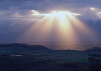 Rays of Sunlight Beam