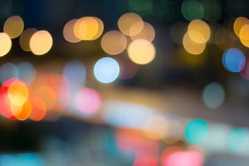 Lighting blur bokeh background