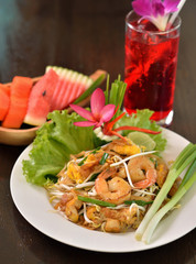Shrimps Pad Thai, Thai Food