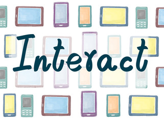 Interact Contact Conversation Community Internet Concept