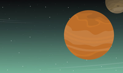 Outer space background collection stock