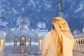 Sheikh Zayed Bin Sultan Al Nahyan Mosque, Abu Dhabi, United Arab Emirates