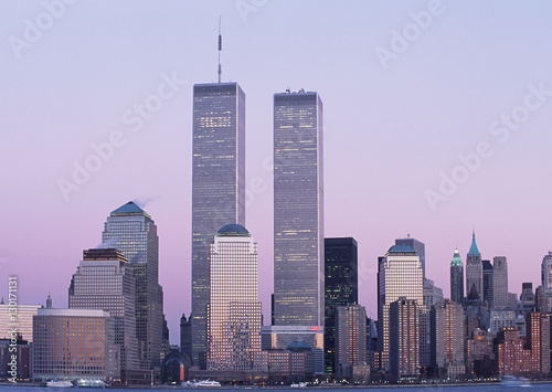 When completed in 1972 One World Trade Center became the tallest building in the world for two years surpassing the Empire State Building which had held the record