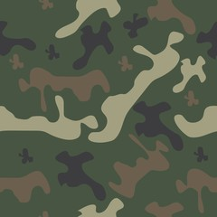 seamless pattern camo