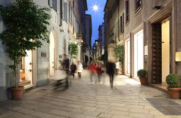 Via Della Spiga, Milan, Lombardy, Italy, Europe